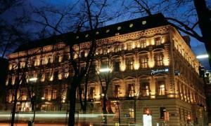 Radisson SAS Palais Vienna Hotel Exterior