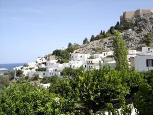 Rhodes: Lindos and its Acropolis (photo Anita Chaplin)