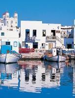 Paros Island Harbor Entrance