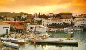 Spetses Town View