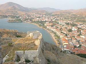 Limnos: Myrina and Part of The Castle