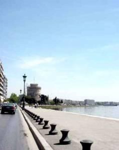 Thessaloniki View of White Tower