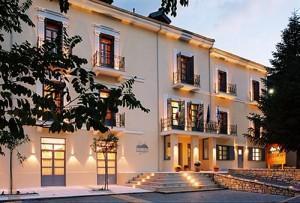 Helmos Hotel Exterior View