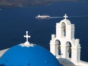 14 Days / 13 Nights: Samos (3 nights) - Mykonos (3 nights), plus Delos Tour - Naxos (3 nights) - Santorini (3 nights) - Athens (1 night)