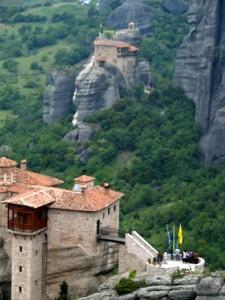 Breathtaking Delphi and Meteora in three days, with dinner and two overnights.