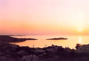 Mykonos Drafaki City Quarter Sunset View