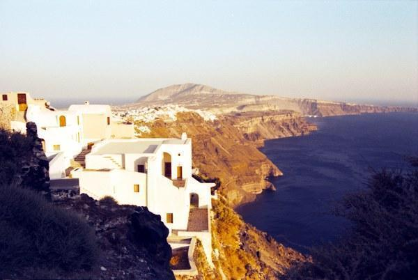 Santorini, Born By A Volcano