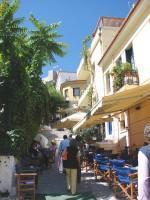 Plaka: Coffee-shops in shaded streets