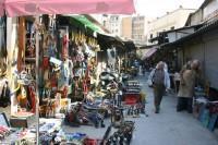 Athens Flea Market in Monastiraki, Plaka