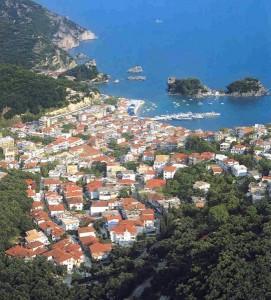 View of Picturesque Parga Town (Preveza Prefecture)
