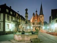 Γερμανία: Το σιντριβάνι της πόλης Μίχελστατ, στην Έσση