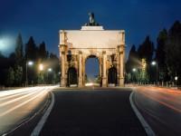 Γερμανία: Βαυαρία, Αψίδα στην οδό Ζίγκεστορ, στο Μόναχο