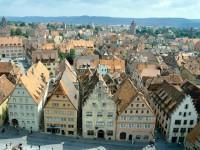 Γερμανία: Τοπίο με χαρακτηριστικές στέγες