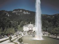 Γερμανία: Το σιντριβάνι του κάστρου Λίντερχοφ, Βαυαρία