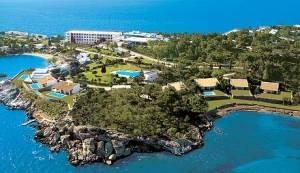Grand Resort Lagonissi Aerial View