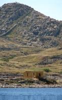 Approaching Delos: Mt. Kynthos