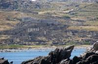 Approaching Delos: Turning around the edge of the promontory