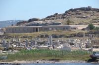 Delos welcoming us