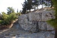 Pnyx Archaeological Site: Retaining Wall