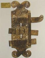 Λαογραφικό Μουσείο Καστοριάς: Μία από τις κλειδαριές από κοντά