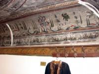 Λαογραφικό Μουσείο Καστοριάς: Οροφή στο Εργαστήριο Γουνοποιίας