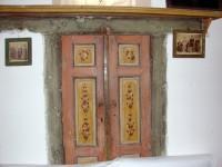 Λαογραφικό Μουσείο Καστοριάς: Διακοσμημένα φύλλα ντουλάπας