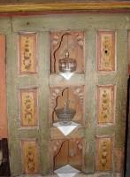 Λαογραφικό Μουσείο Καστοριάς: Διακοσμητικές 'φωλιές' στα ντουλάπια