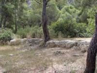 Malangavi Promontory, Perachora: Part of the Ancient road from Corinth-Therme (Loutraki)- Peiraeon (Perachora) to Heraion