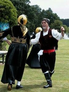 Cretan dancers