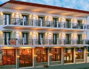 Ξενοδοχείο Παρνασσός: Πρόσοψη