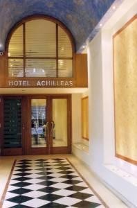 Achilleas Hotel Entrance