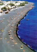 Santorini Perissa Beach