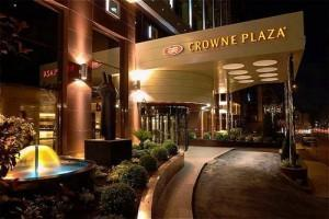 Crowne Plaza Entrance