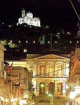 Syros Night view