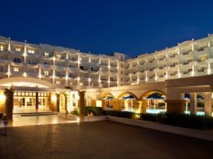 Grand Hotel Rhodes Entrance