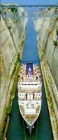 Corinth Isthmos Canal