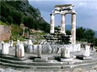 Delphi Temple of Athena