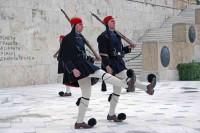 Athens Change of Guards at the Unknown Soldier's Monument in Syntagma Square