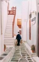 Mykonos Alleys