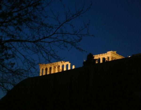 Athens Acropolis at Night