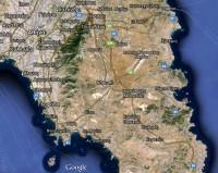 Mt. Hymettus on the map