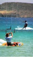 Paros Kite Surfing in Pounda Area