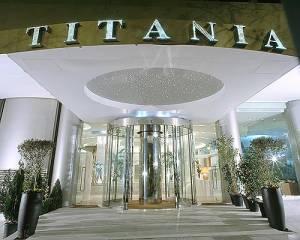 Titania Hotel Entrance