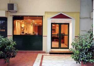 Alma Hotel Entrance