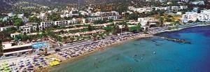 Blue Sea Resort Aerial View