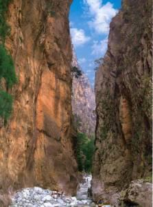 Chania Samaria Gorge