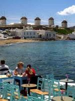 Mykonos Town Windmills View from Little Venice
