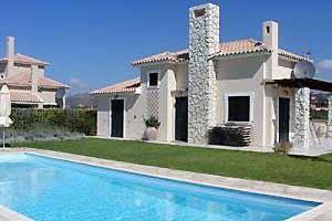 Kyma & Eros Villas Exterior View