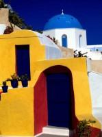 Santorini Full of Colors