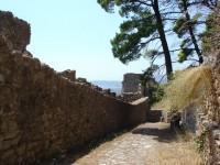 Το Κάστρο της Ναυπάκτου: Δεύτερο από τα πάνω διάζωμα